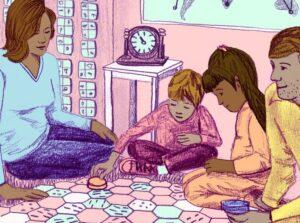 samen spellethes doen zelfbeeld conflicten oplossen